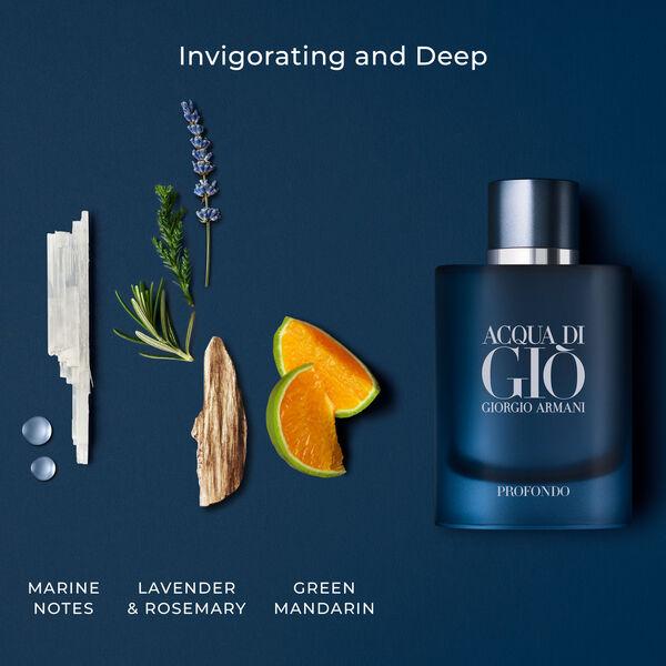 Acqua Di Giò Profondo Edp 3-Piece Fragrance Set
