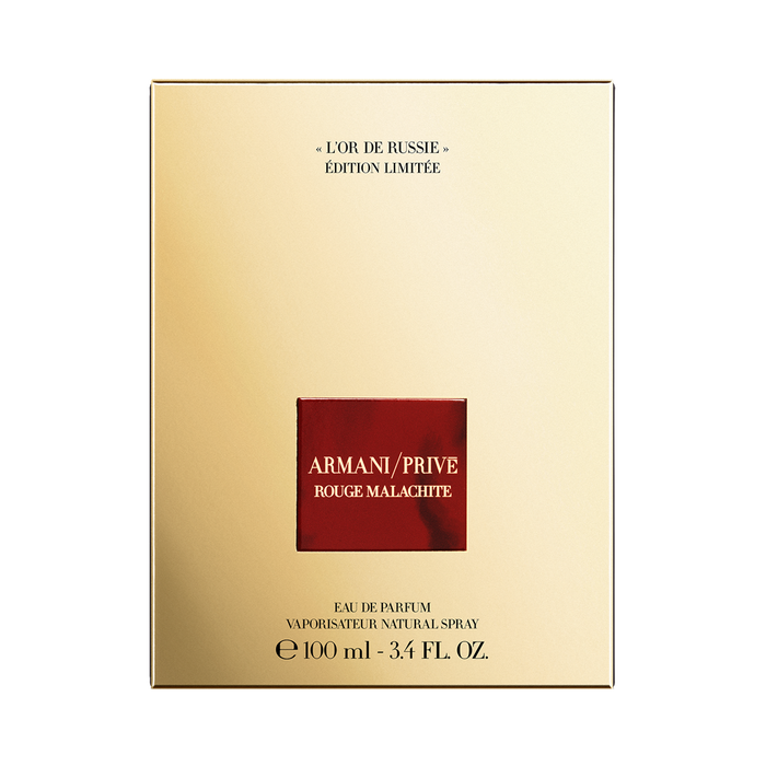 24534fa76f Armani Privé Rouge Malachite  L Or De Russie