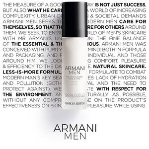 Armani Men The Moisturizer Face & Eye