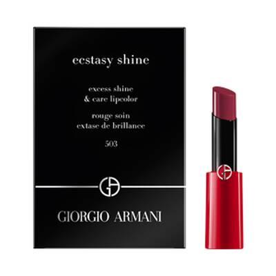 Ecstasy Shine Lipstick Sample 503 Fatale