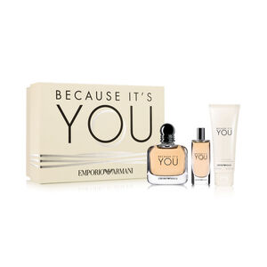 Emporio Armani Because It's You for Women Set