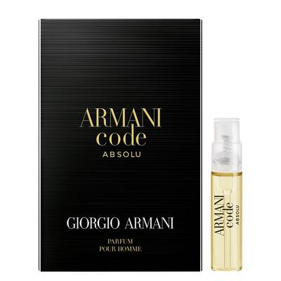 Armani Code Absolu Sample 1.2 mL (.04 oz)