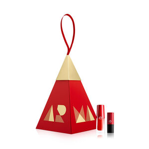 Armani Beauty Red Lip Ornament Set