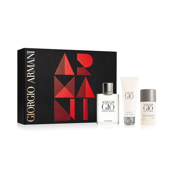 Acqua di Giò Pour Homme Trio Gift Set