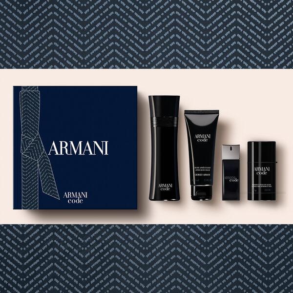 Armani Code Classic 4-Piece Men's Fragrance Gift Set