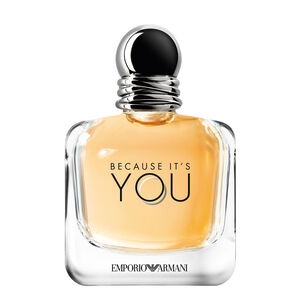 Emporio Armani Because It's You for Women and Stronger With You For Men Set