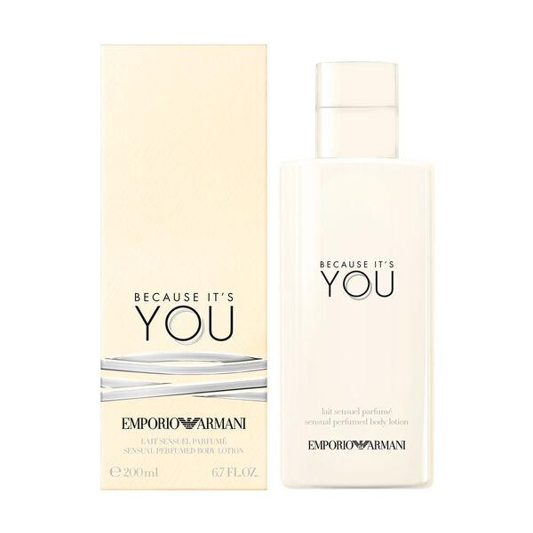 Emporio Armani Because It's You Sensual Body Lotion